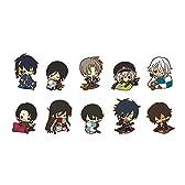 ラバーストラップコレクション 刀剣乱舞-ONLINE- くつろぎ ver. 1BOX = 10個入 全10種
