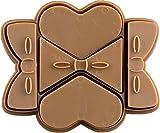 貝印 × COOKPAD 一度にたくさん抜ける かわいいクッキー型 ハート・リボン DL-8017