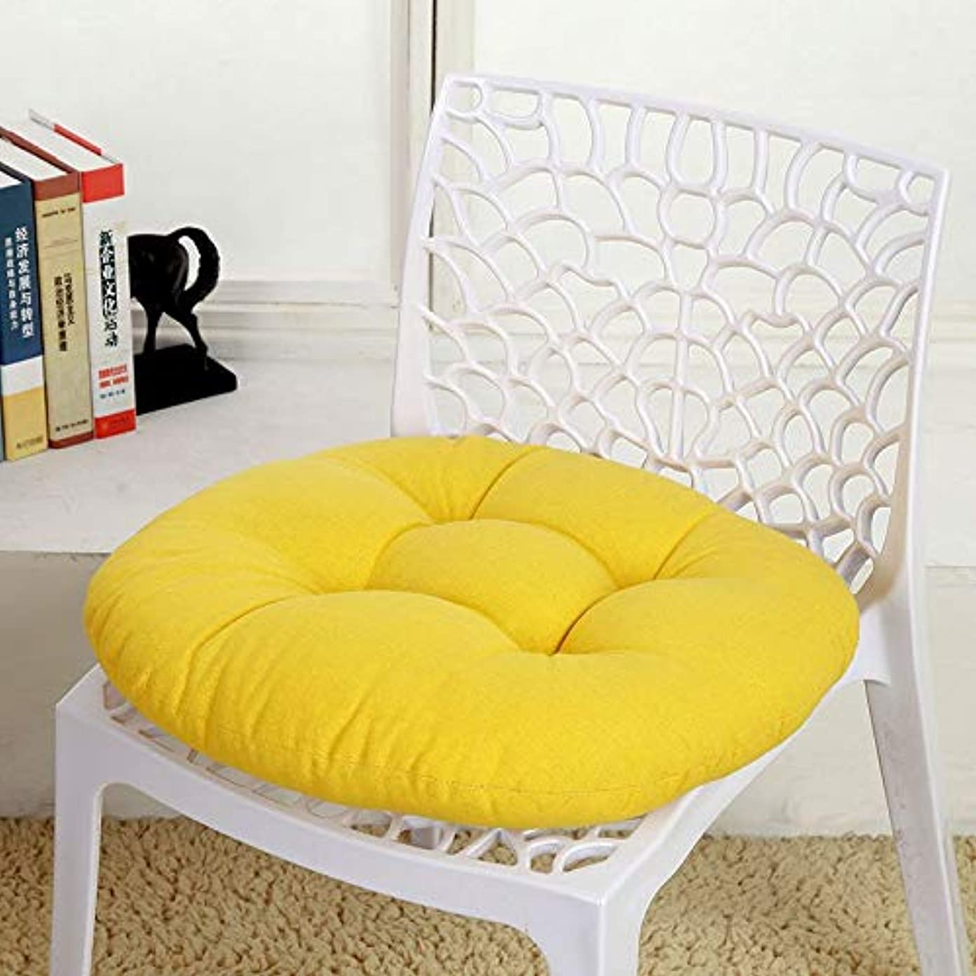 粗い学生めまいLIFE キャンディカラーのクッションラウンドシートクッション波ウィンドウシートクッションクッション家の装飾パッドラウンド枕シート枕椅子座る枕 クッション 椅子
