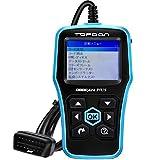 TOPDON OBD2 故障診断機 日本語 サポートobdスキャナー スキャンツール コードリーダー トヨタ bmw honda vw ボルボに対応 - Plus 2.0