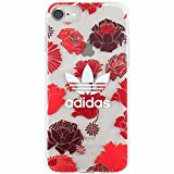 adidas 時計 TeamS(チームエス) adidas アディダス iPhone7 ケース ブランド ハード スマホケース アイホン7 ケース bohemian ボヘミアンレッド 「当店オリジナルフィルム付き」 [並行輸入品]