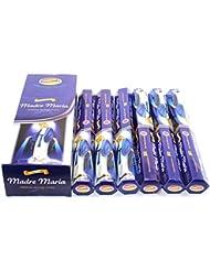 Govinda ® Incense – Madre Maria – 120 Incense Sticks、MasalaコーティングIncense