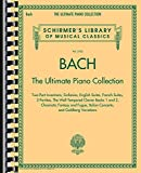 Johann Sebastian Bach: The Ultimate Piano Collection, Two-Part Inventions, Sinfonias, English Suites, French Suites, 3 Partitas, The Well-Tempered Clavier Books 1 and 2, Chromatic Fantasy and Fugue, italian Concerto, And Goldberg Variations (Schirmer's Library of Musical Classics)