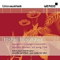 Hosokawa: Voyage VIII | Voyage X - Nozarashi Stunden-Blumen by Melvyn Poore