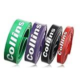 (コリンズ)Collins トレーニングチューブ エクササイズバンド フィットネスチューブ 筋トレ ソフト レギュラー ハード スーパーハード