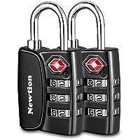 TSAロック 3桁ダイヤル式ロック 海外旅行用南京錠 荷物スーツケース用3ダイヤルロック 4点セット