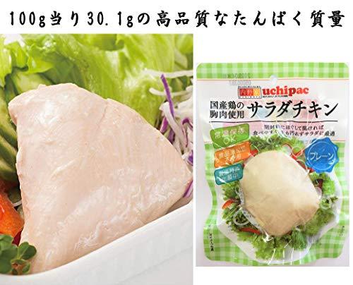 無添加サラダチキン 高たんぱく質【国産鶏の胸肉使用 常温で長期保存】プレーン10食セット/プロテインの代替品や非常食に最適 鶏肉の美味しさこだわった本物志向の方に