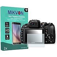 2x Mikvon ClearFujifilm FinePix HS30EXR対応 画面保護フィルム アクセサリー付きのリテールパッケージ