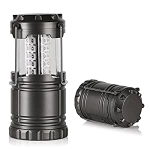 Crenova 携帯型 折り畳み式 30LEDランタン 軽量コンパクトキャンプ 野営 エクスプローラー用 連続点灯72時間