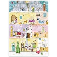 ロジャーラボード 【クリスマス】 アドベントカレンダー (動物たちのお家) ACC022