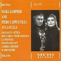 Mar Zampieri & Piero Cappuccilli at La Scala