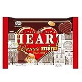 不二家 ハートチョコレート(ピーナッツ) ミニMP 42g ×10個