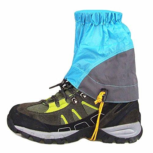 Lixada ナイロン材質 登山 ゲイター ショット トレッキング クライミング ハイキング 防水 泥除け レッ...