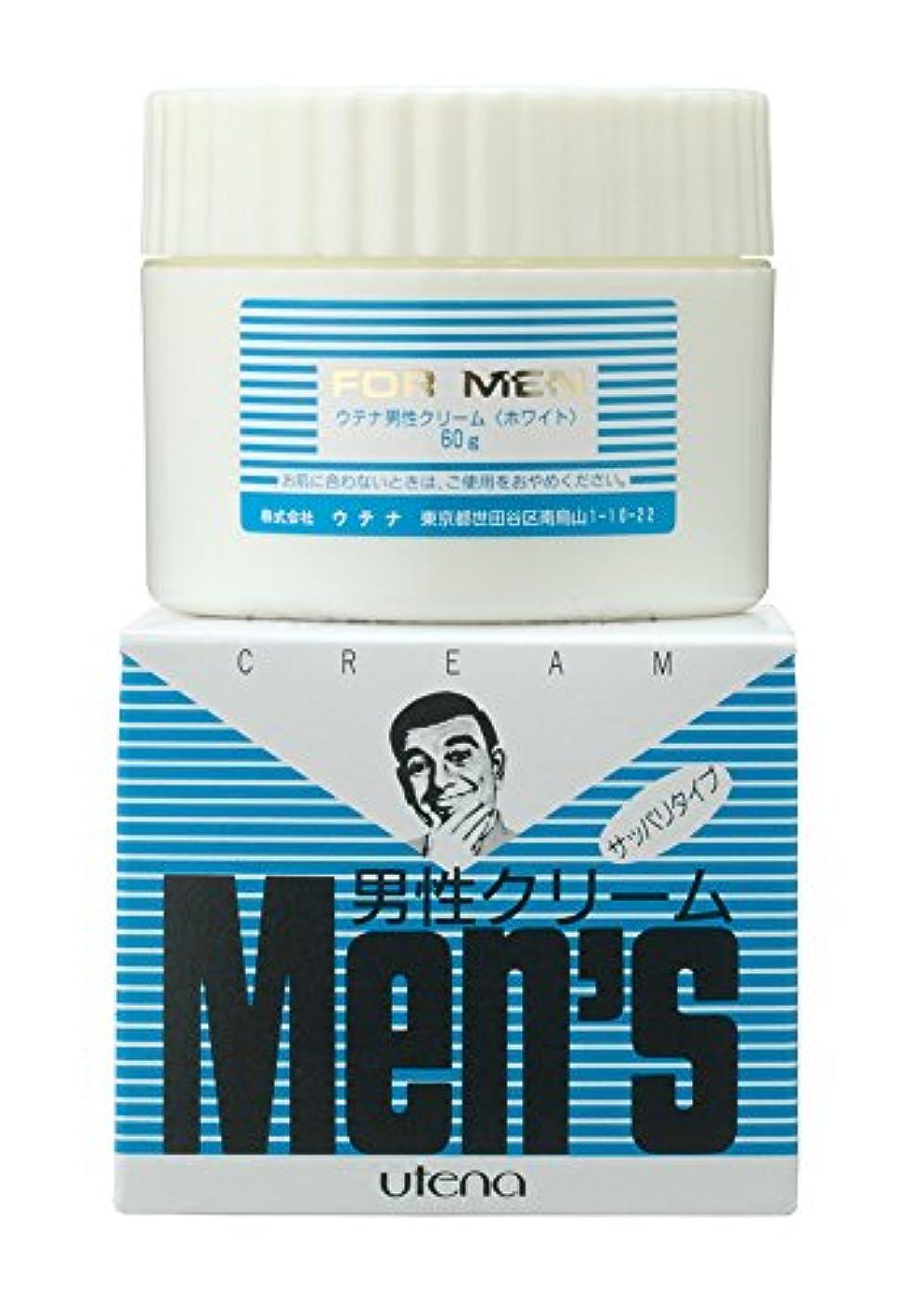 薬用リンケージお互いウテナ 男性クリーム さっぱり (ホワイト) 60g