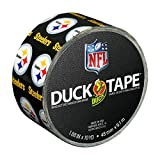 Duck Brand 241410 Pittsburgh Steelers NFL Team Logo Duct Tape, 1.88-Inch by 10 Yards, Single Roll [並行輸入品]