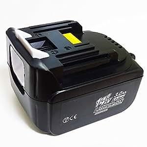 MAKITAマキタ 【安心の日本製セル使用】BL1430対応互換バッテリー 14.4V 3000mAh Li-ion