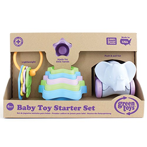 [해외]Green Toys (그린 토이즈) 아기 장난감 스타터 세트/Green Toys (Green Toys) Baby Toy Starter Set