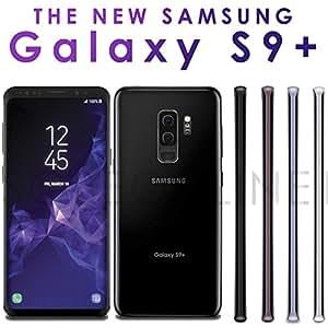 Samsung Galaxy S9+ Dual (SM-G965F/DS) SIMフリー (Midnight Black) 6GB/64GB 並行輸入品