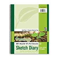 Ecology Recycled Sketch Diary (4798) by Ecology [並行輸入品]