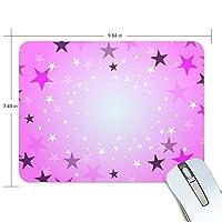 Anmumi マウスパッド 滑り止め ゲームに適用 かわいい オシャレ 実用性 星 かわいい 19×25×0.5cm