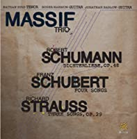 Massif Trio-Schumann Schubert & Strauss
