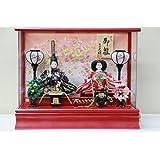 アクリル赤小親王ケース 712kt-case2 【雛人形ケース飾り】