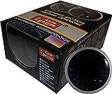 オートゲージ(AUTOGAUGE) ブースト計 SM 60Φ ホワイト/アンバーレッド アナデジ アナログ デジタル デュアルシリーズ