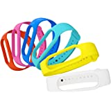 AWINNER Bands Compatible with Xiaomi Mi Band 5 Smartwatch Wristbands Replacement Band Accessaries Straps Bracelets for Mi5 (6