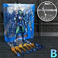 JOYCOSマーベルアイアンマンブルーステルスアクションフィギュアアイアンマンマークトニー·スタークの伝説アベンジャーズ人形おもちゃ