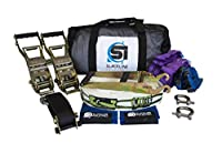 Slackline Industries Boss Line - 85ft Competition Style Trickline Kit with Backup Lines Tree Protectors & Zero Waste Packaging [並行輸入品]