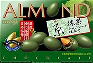 明治 アーモンド京抹茶チョコレート仕立て 54g×10箱