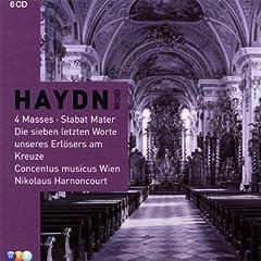 輸入盤 アーノンクール指揮 ハイドン:4つのミサ曲、スターバト・マーテルほか(6枚組)のAmazonの商品頁を開く