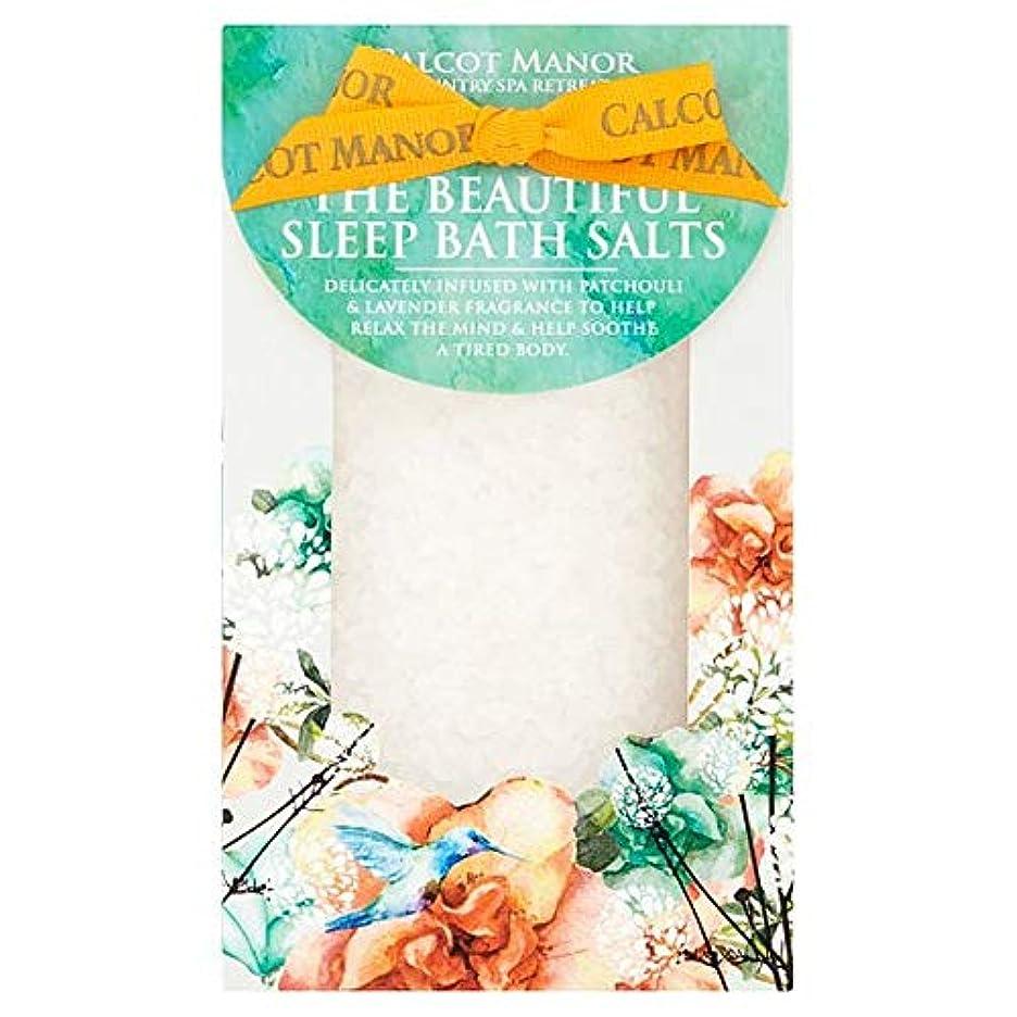 ヘクタール遮るプラグ[Blue Orange] カルコットマナー睡眠バスソルトギフトセット - Calcot Manor Sleep Bath Salts Gift Set [並行輸入品]