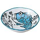 めで鯛 50浅鉢 青 [ 16.5 x 4.5cm ] 【 中鉢 】 【 料亭 旅館 和食器 飲食店 業務用 】