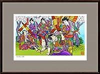 クラシカルアート「白波五人男」Facile ・ P8号(33.3×44.5cm)・ジクレー版画