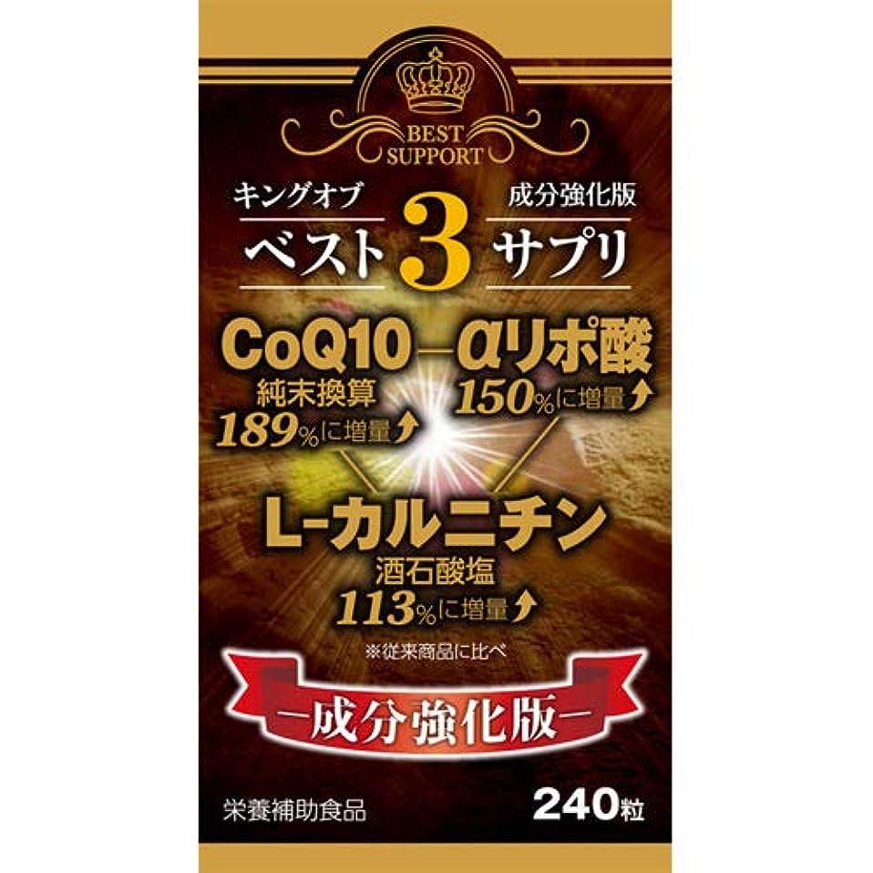 天の磨かれた寄生虫【ウエルネスジャパン】キングオブベスト3サプリ 240粒 ×20個セット
