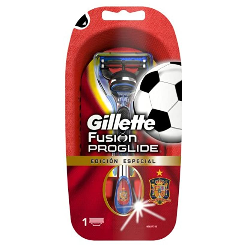 差し迫ったなる過度の【数量限定品】 ジレット プログライド サッカースペインモデルホルダー