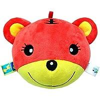 Yiping 子供用 知育玩具 赤ちゃん ラブリータイガー ソフトハンドラトル ベル キッズ ベビー 面白いおかしなお菓子ベル ボール おもちゃ ギフト