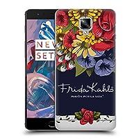 Official Frida Kahlo ブルーム レッド・フローラル ハードバックケース OnePlus 3 / 3T