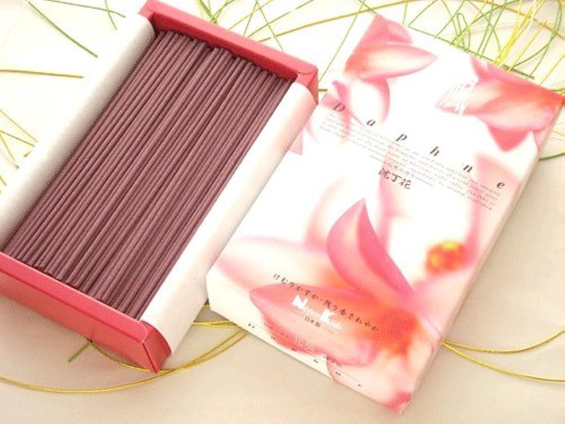 伝統的眼文芸日本香堂 微煙タイプ【花風(かふう) Daphne 沈丁花】 バラ詰大箱