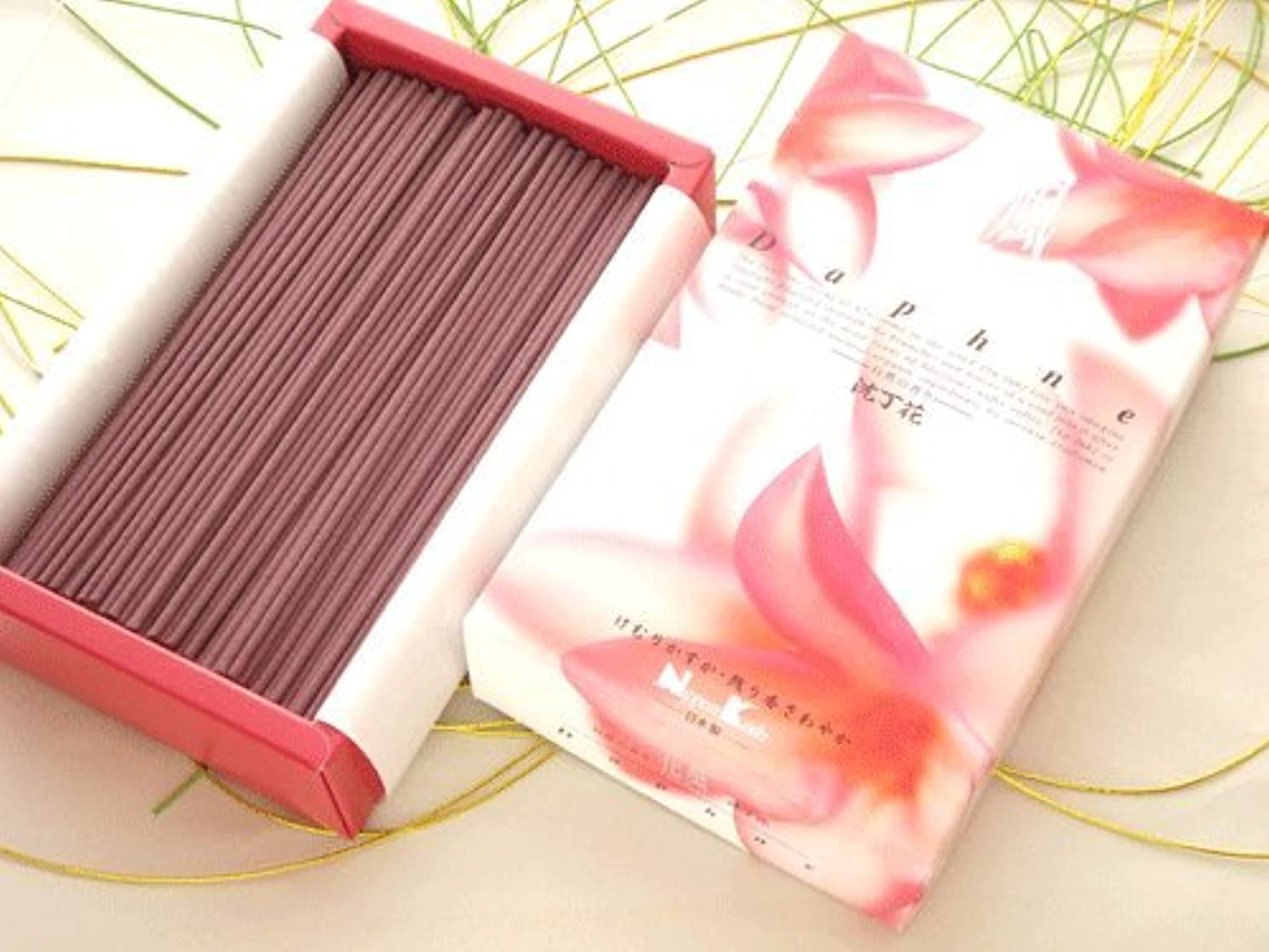 後ろにありふれた力学日本香堂 微煙タイプ【花風(かふう) Daphne 沈丁花】 バラ詰大箱