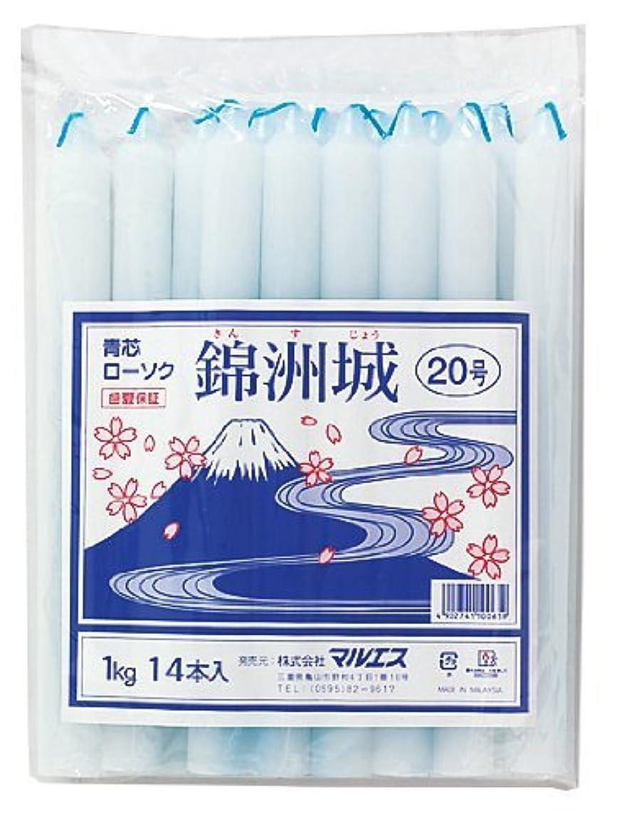 最適浸す宇宙船マルエス 錦州城 青芯20号 1kg