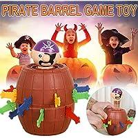 CORESUFUYTOYS COREYCHEN 子供用 ハロウィン 玩具 ノベルティ トリッカー 屋根 通気口 面白い 海賊 バレルおもちゃ 家族 オフィス パーティー 興味深いゲーム玩具 子供向けギフト