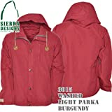 Washed Light Parka 3015: Burgundy