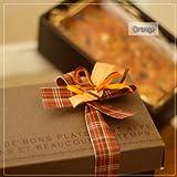 こだわりのミックスパウンドケーキ・ギフトボックス~和歌山産オレンジとレーズンとチョコとナッツのパウンドケーキ(焼き菓子)箱入り(包装/リボン)