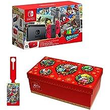 Nintendo Switch スーパーマリオ オデッセイセット+【www.z328y.cn限定】オリジナルラゲッジタグ+【www.z328y.cn限定】ギフトラッピングキット【大】 (BOX仕様:マリオキャラクターver.)