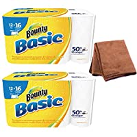 "Bounty 92970基本select-a-size紙タオル、5–9/ 10"" x 11インチ、1-ply、ホワイト( Pack of 12)"