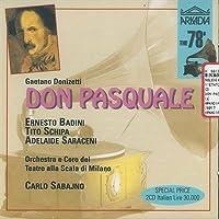 Donizetti;Don Pasquale