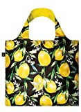 JUICY Lemons Bag: Gewicht 55 g, Groesse 50 x 42 cm, Zip-Etui 11 11.5 handle 27 water resistant, made of polyester, OEKO-TEX certified, can carry up to 20 kg LOQI(ローキー) LOQI GmbH LQ-JULE