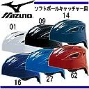 ミズノ ソフトボール キャッチャーヘルメット 2HA580 09 XO